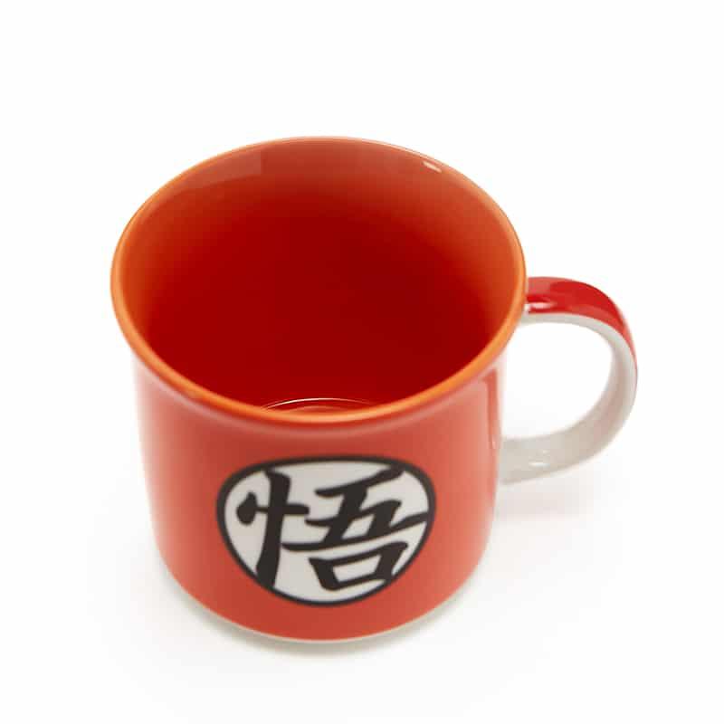 Caneca Tom Goku Símbolo - Dragon Ball Z