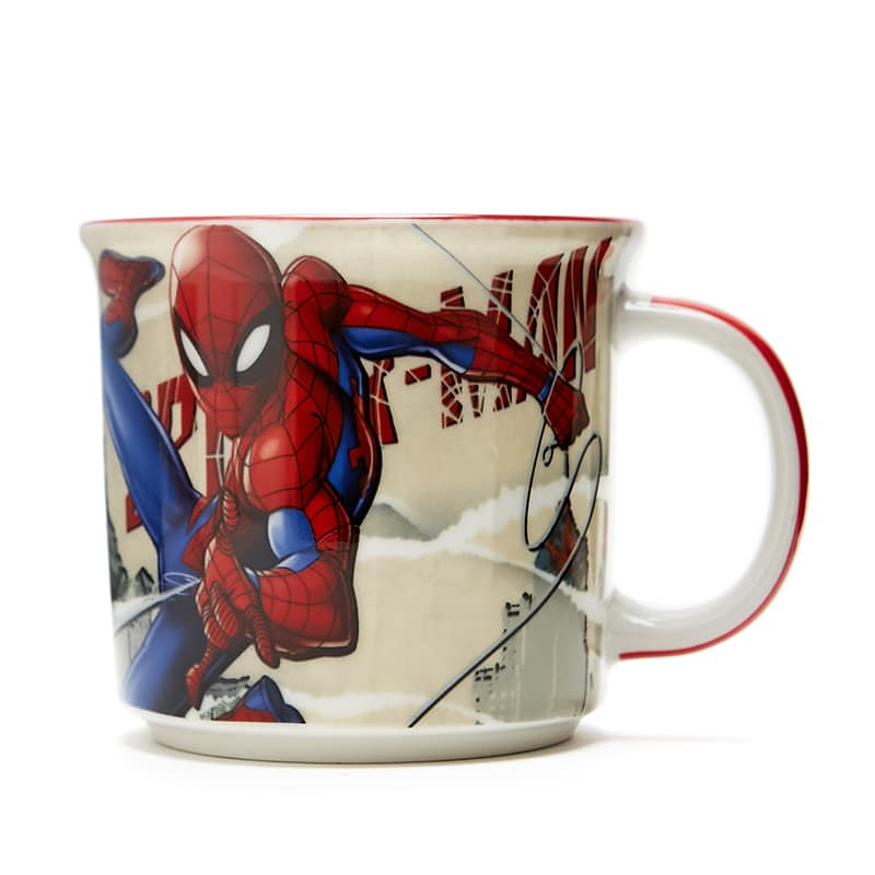 Caneca Tom Spider Man HQ Páginas - Marvel