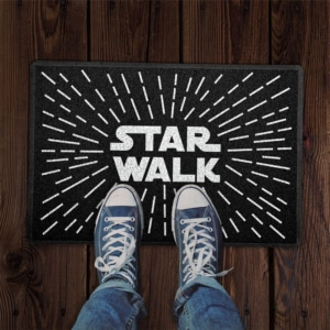 Capacho Criativo Star Walk