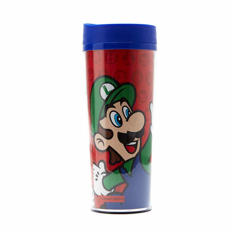 Copo Viagem Super Mario Bros