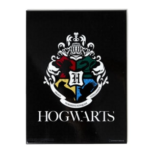 Quadro de Metal Hogwarts - Harry Potter