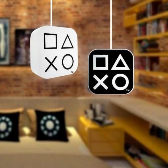 Luminária Pendente Playstation Box Preta