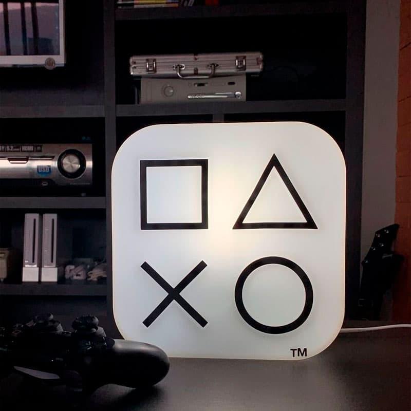 Luminária Playstation Box Branca