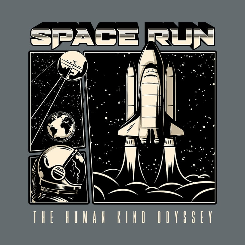 Camiseta Space Run