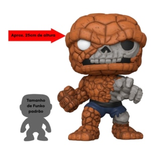 Funko POP! Zombie The Thing (Summer Convention 2020) - Marvel - 25 cm de altura