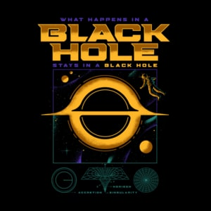 Pré-Venda Camiseta Black Hole