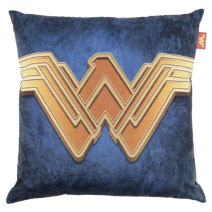 Almofada WB Wonder Woman Logo Gold com Enchimento - DC Comics