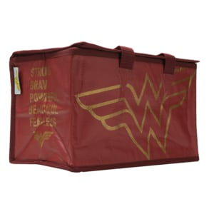 Bolsa Térmica Wonder Woman Gold Logo - DC Comics