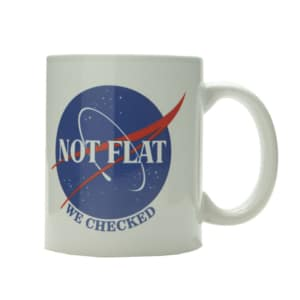 Caneca Not Flat We Checked