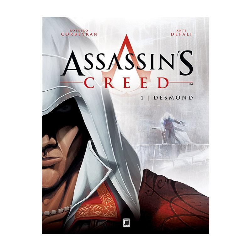 Livro Assassin's Creed Hq: Desmond (vol. 1)
