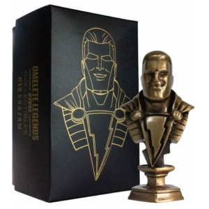 Mini Busto Shazam Steel Collectibles