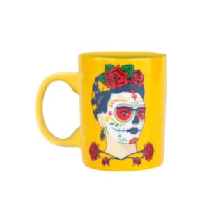 Mini Caneca Frida Kahlo Face