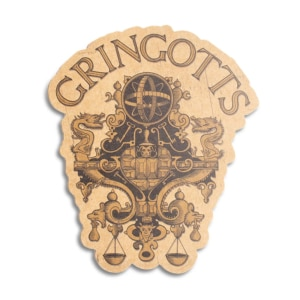 Placa Decorativa Gringotts
