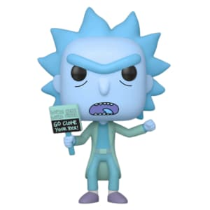 Funko POP! Animation Rick & Morty - Hologram Rick Clone